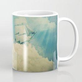 Air floating boat Coffee Mug