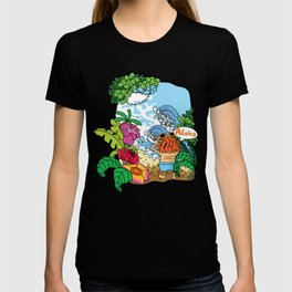 Lost in tropic island T-shirt