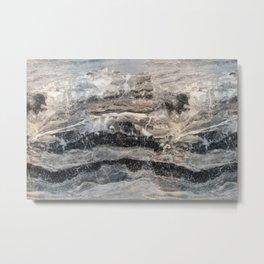 Deep Marble Metal Print