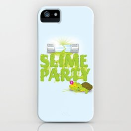 Slime Party iPhone Case