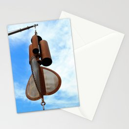 Wind Chimes for Giants Stationery Cards