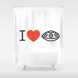 I LOVE PANTAM I LOVE HANDPAN T-SHIRT Shower Curtain