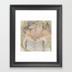 Fox [[ 3 ]] Framed Art Print