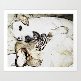 It's Mine!! Art Print
