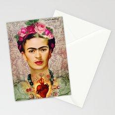 FRIDA KAHLO SACRED HEART Stationery Cards