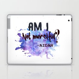 AM I NOT MERCIFUL Laptop & iPad Skin