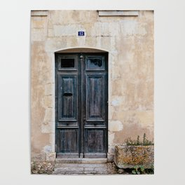 Old fashioned door Poster