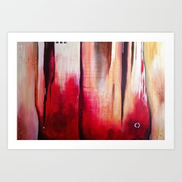 Red Cedars Art Print