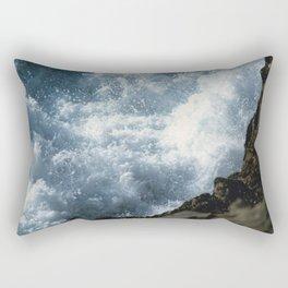 Turbulent Sea Rectangular Pillow