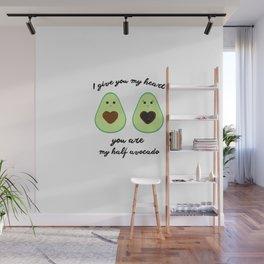 Couple of avocados Wall Mural