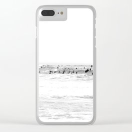 old surf Clear iPhone Case