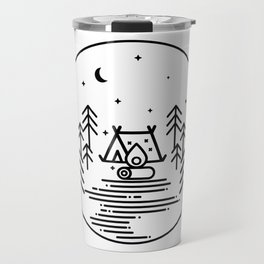 Camping in the Great Outdoors / Geometric / Nature / Camping Shirt / Outdoorsy Travel Mug