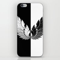 angel iPhone & iPod Skins featuring Angel by haroulita