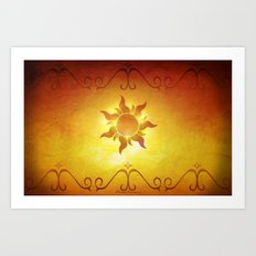 ...and at last i see the light! Art Print