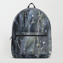 dewy weed abstract Backpack