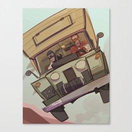 the fun van Canvas Print
