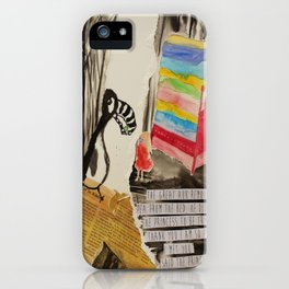 The Princess meets The Great Auk iPhone Case