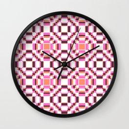 Girlpower Retro Love Sileni Wall Clock