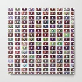 Dollar Pattern 16 Metal Print