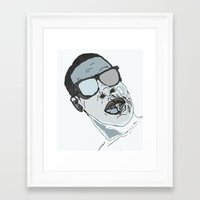 jay z Framed Art Prints featuring Jay Z. by BlvckBewty
