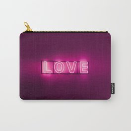 Love Neon Sign Carry-All Pouch
