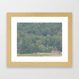 Barn at Cades Cove Framed Art Print