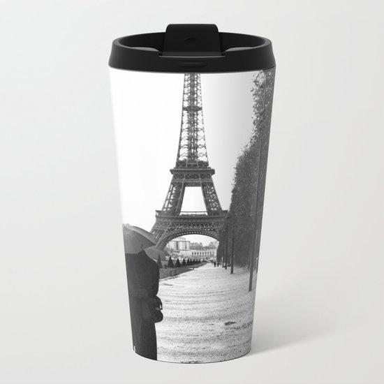 Paris Amour Metal Travel Mug