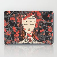 sleeping beauty iPad Cases featuring Sleeping Beauty  by Paula Belle Flores