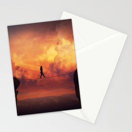 crossing the chasm Stationery Cards