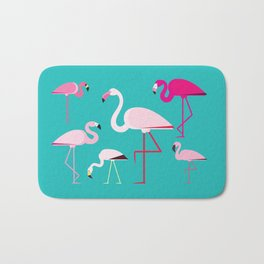 Flamingos Bath Mat