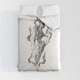 Black Flame Candle NOODDOOD Comforters