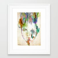 archan nair Framed Art Prints featuring Organic by Archan Nair