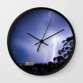 Summer Storms Wall Clock