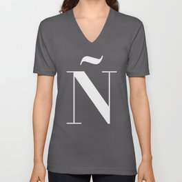 Ñ (Piece 03/08) Unisex V-Neck