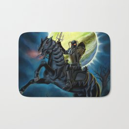 Heavy Metal Knights Bath Mat
