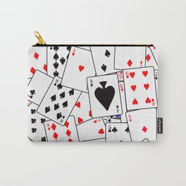 Random Playing Card Background Carry-All Pouch