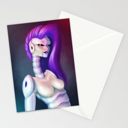 Robot girl Mk2 Stationery Cards