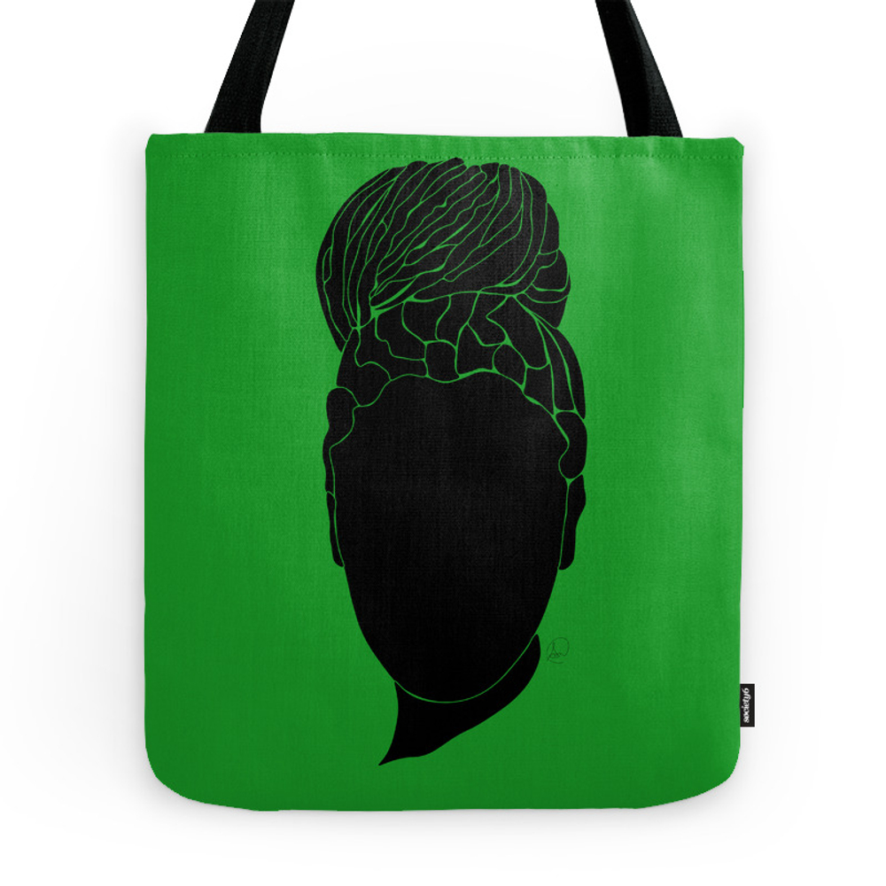 Green Tote Purse by smwvisuals (TBG7168116) photo
