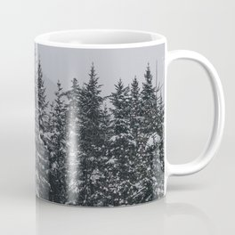 Winter at Lonesome Lake Coffee Mug