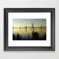 The Keepers of the Lake Framed Art Print