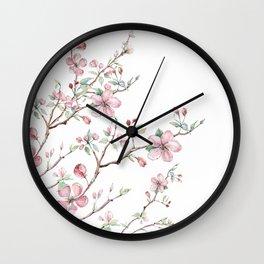 Apple Blossom 2 #society6 #buyart Wall Clock