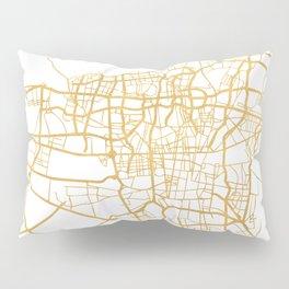 TEHRAN IRAN CITY STREET MAP ART Pillow Sham