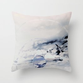Ethereal Vibrations Throw Pillow