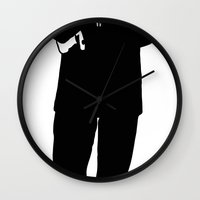 storm trooper Wall Clocks featuring Trooper... Storm Trooper by Derek Donovan