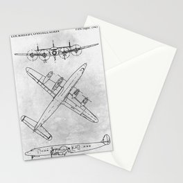LOCKHEED CONSTELLATION Stationery Cards