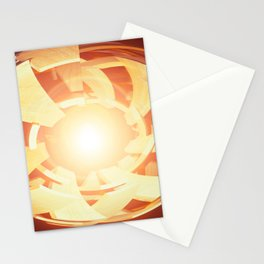 """Atom Or Adam"" Stationery Cards"