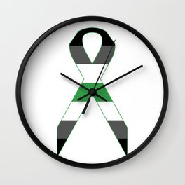 Agender Ribbon Wall Clock