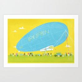 Graph Zeppelin Art Print