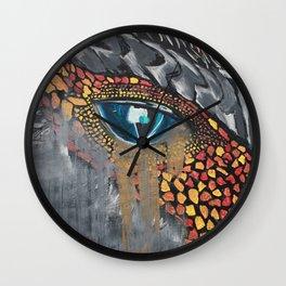 Drgon Tears Wall Clock