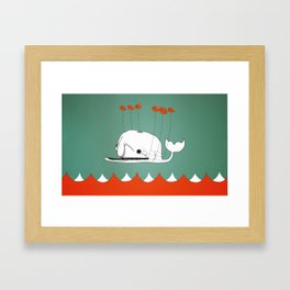 Fail Whale Framed Art Print